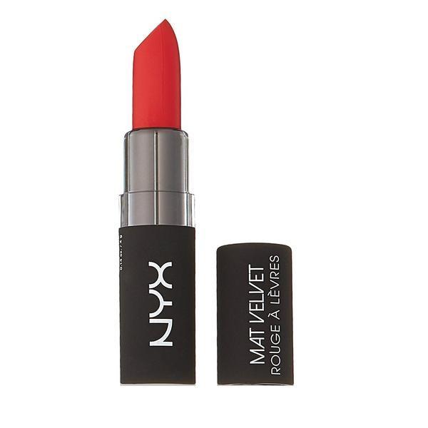 Ruj mat NYX Velvet Matte Lipstick, 11 Blood Love imagine produs