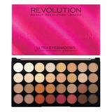 Paleta fard de pleoape Makeup Revolution Ultra Eyeshadow, Flawless 3 Resurrection, 32 nuante