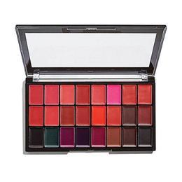 Paleta 24 rujuri Makeup Revolution Pro Lipstick Kit, Reds/Vamps de la esteto.ro