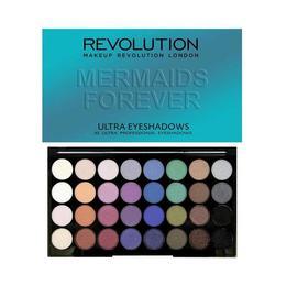 Fard de pleoape Makeup Revolution Mermaids Forever, 32 nuante de la esteto.ro