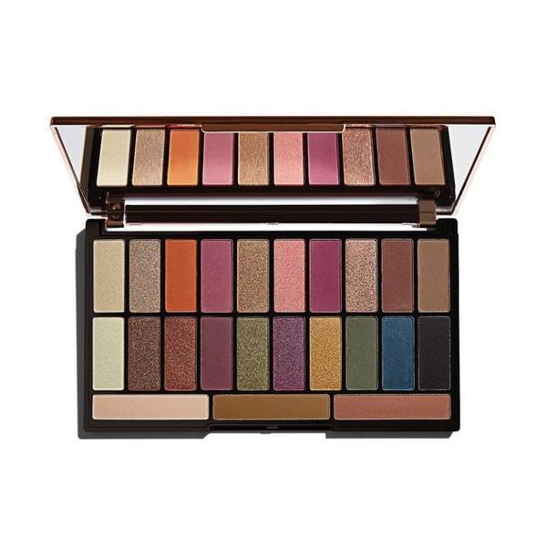Paleta fard pleoape, Makeup Revolution X Tammi Tropical Paradise Palette, 23 nuante poza