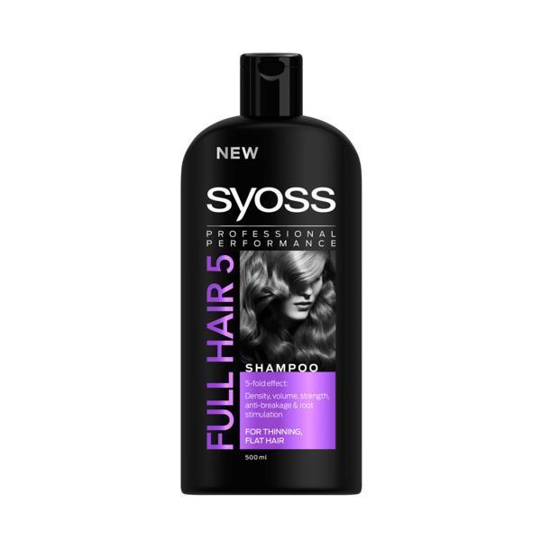 Sampon pentru par, Syoss, Full Hair 5, 500 ml esteto.ro