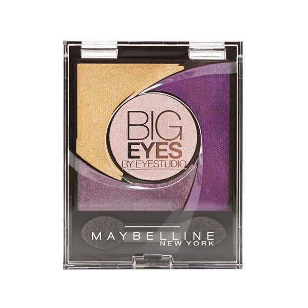 Fard de pleoape Maybelline NY Big Eyes Luminous Purple 05 imagine produs