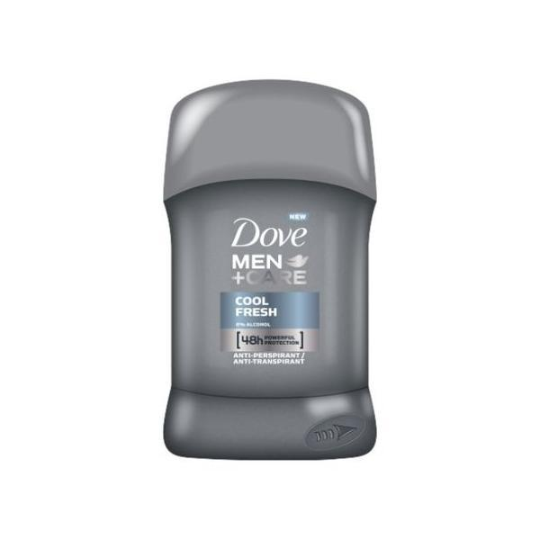 Deodorant antiperspirant stick 48h Dove Men+Care Cool Fresh 50ml poza