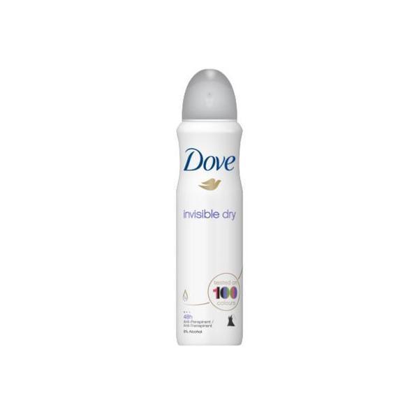 Deodorant antiperspirant spray Dove Invisible Dry 48 h 150ml imagine produs