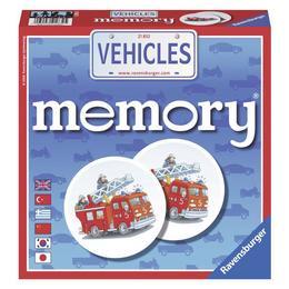 Joc memorie vehicule - Ravensburger