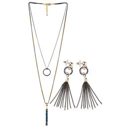 Set Colier si Cercei Ring Lucy Style 2000