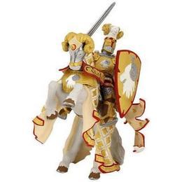 Set figurine Papo - maestrul armelor si cal auriu