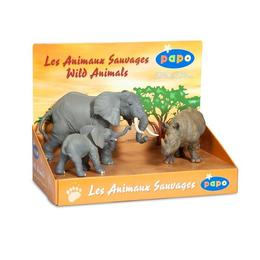 Set Figurine - Papo animale jungla