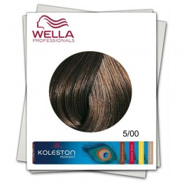 Vopsea Permanenta - Wella Professionals Koleston Perfect nuanta 5/00 castaniu deschis