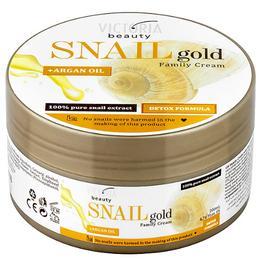 Crema Universala cu Extract de Melc si Ulei de Argan Camco Snail Gold, 200ml de la esteto.ro