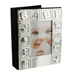 Album foto argintat pentru bebelusi Juliana