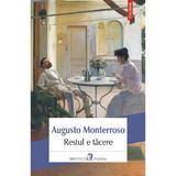 Restul e tacere - augusto monterroso, editura Polirom