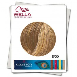 Vopsea Permanenta - Wella Professionals Koleston Perfect nuanta 8/00 blond deschis