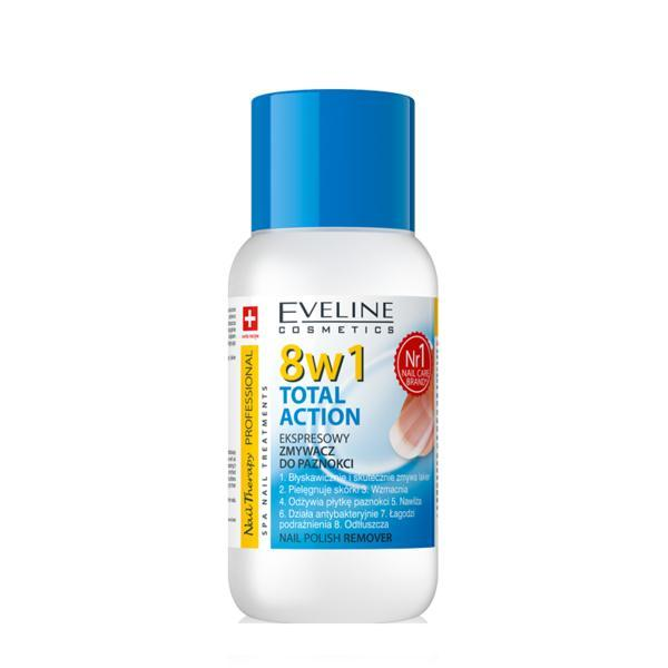 Dizolvant fara acetona, Eveline Cosmetics, 8in1 150 ml imagine produs