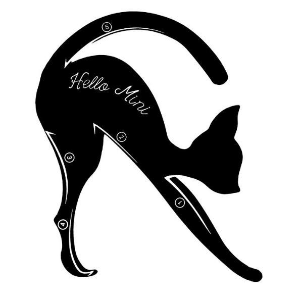 Accesoriu Contur Ochi Cat Line Lucy Style 2000 imagine produs