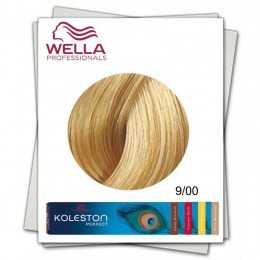 Vopsea Permanenta - Wella Professionals Koleston Perfect nuanta 9/00 blond luminos