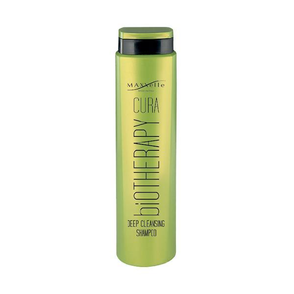Sampon pentru Par Gras si Anti-Matreata - Maxxelle Cura Biotherapy Deep Cleansing Shampoo, 250ml