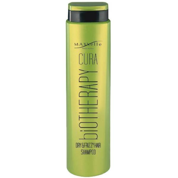 Sampon pentru Par Uscat si Cret - Maxxelle Cura Biotherapy Dry & Frizzy Hair Shampoo, 250ml