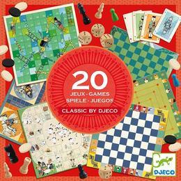 Colecția - 20 jocuri clasice - Djeco
