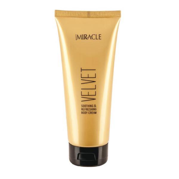 Crema pentru Fata si Corp dupa Expunerea la Soare - Maxxelle Miracle Velvet Soothing & Refreshing Body Cream, 200ml poza