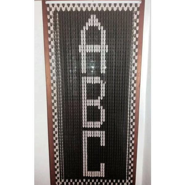 Perdea pentru usa model Abc – Cristiana Plast