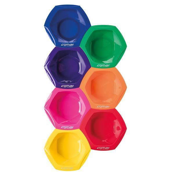 Boluri Rainbow colorate pentru vopsea 7 buc x 350 ml - Comair Professional