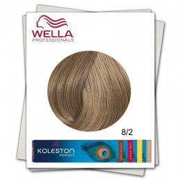 Vopsea Permanenta - Wella Professionals Koleston Perfect nuanta 8/2 blond deschis mat