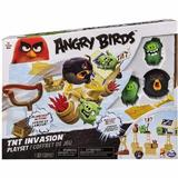 Set figurine Angry Birds TNT Invasion atacul de pe insula - Spin Master