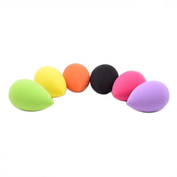 Set 10 mini buretei machiaj, Beauty Blender Soft, multicolor imagine produs