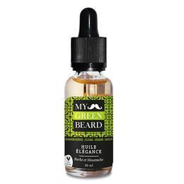Ulei pentru barba si mustata, Elegance Beard Oil, My Green Beard 30ml