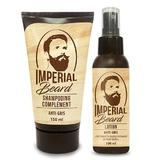 Set refacere culoare naturala barba grizonata Anti Gris Barbe, Imperial Beard (sampon 150ml + lotiune 100 ml )