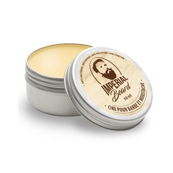 Ceara pentru barba si mustata - Cire pour barbe et moustache, Imperial Beard 50ml imagine produs