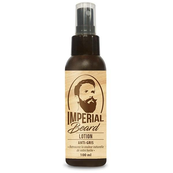 Tratament Lotiune impotriva barbii grizonate Lotion Anti Barbe Grise, Imperial Beard 100ml