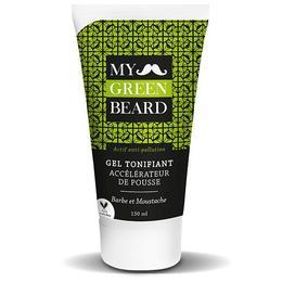 Gel revigorant pentru accelerarea cresterii barbii si mustatei, Beard Growth Accelerator Invigorating Gel, My Green Beard 150ml de la esteto.ro
