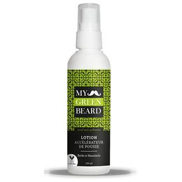 Tratament Lotiune pentru accelerarea cresterii barbii si mustatei, Beard Growth Accelerator Lotion , My Green Beard 100ml