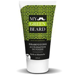 Sampon pentru accelerarea cresterii barbii si mustatei, Beard Growth Accelerator Shampoo, My Green Beard 150ml de la esteto.ro