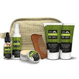 Set cadou Trusa accelerare crestere barba si mustata, Beard Growth Accelerator Kit, My Green Beard (sampon 150ml, lotiune 100ml, ulei 30ml, ceara 50ml, gel 150ml)