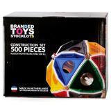 Set de constructie Branded Toys Triqo 500 piese