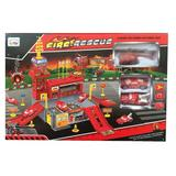Set de joaca Statie de pompieri cu 26 piese - Dino