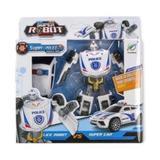 Super Robot care se transforma in masina de politie - Dino