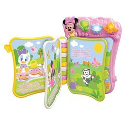 Carticica interactiva Clementoni Minnie Mouse 6-36 luni, 21x28cm, in engleza