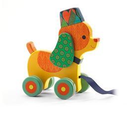 Jucărie de tras cățelușul inou - Djeco
