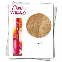 Vopsea fara Amoniac - Wella Professionals Color Touch nuanta 9/73 blond luminos maro auriu