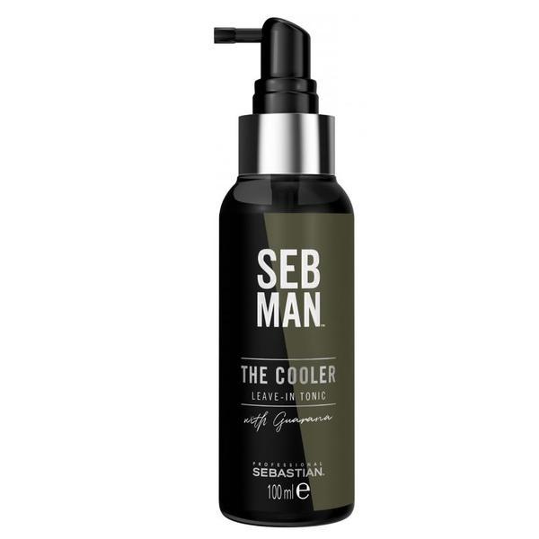 Tonic revigorant pentu barbati Sebastian Prefessional SEB Man The Cooler Leave-In Tonic, 100 ml