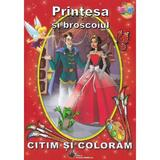 Printesa si broscoiul - Citim si coloram, editura Steaua Nordului