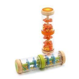 Jucărie bebe ploaie colorată - portocaliu - Djeco