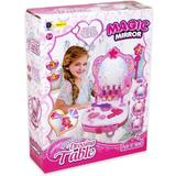 Set Magic Mirror Trusa machiaj pentru fetite  cu oglinda magica - Dino