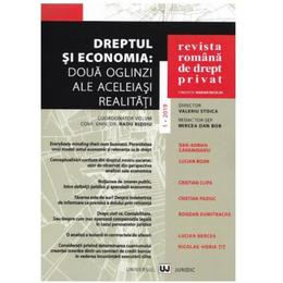 Revista romana de drept privat nr.1/2019, editura Universul Juridic
