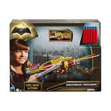 Set Arbaleta de jucarie cu 6 gloante Superman Wonder Woman - Boom